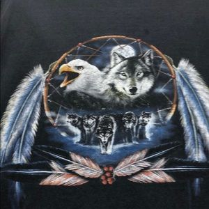 Other - Eagle and wolf t-Shirt